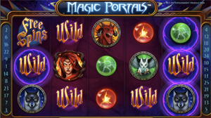Magic Portals wild