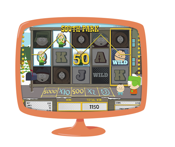 South Park 40 free spins