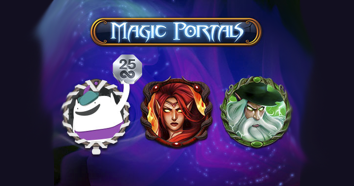 magic portals free spins